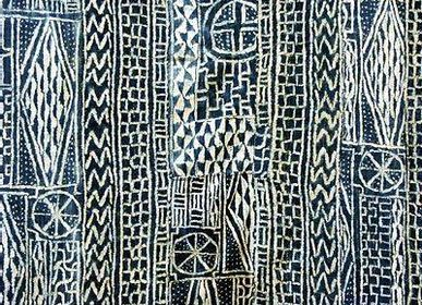 Fabrics - African fabrics or bogolan fabrics or ndop fabrics or loincloth fabrics - SUBLIME JUJU HAT