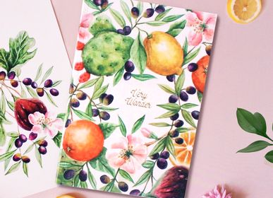Stationery - Illustrated Lined Pages Notebook - VERY WONDER