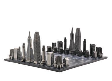 Objets design - Métal Premium Édition San Francisco - SKYLINE CHESS LTD