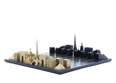 Objets design - Bronze massif de luxe Paris Edition - SKYLINE CHESS LTD
