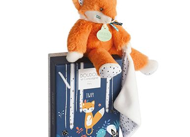 Soft toy - TIWIPI Fox - Doll with doudou - DOUDOU ET COMPAGNIE