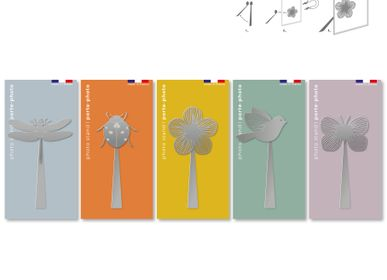 Stationery store - Magnetic stainless steel photo stand - Nature. - TOUT SIMPLEMENT,