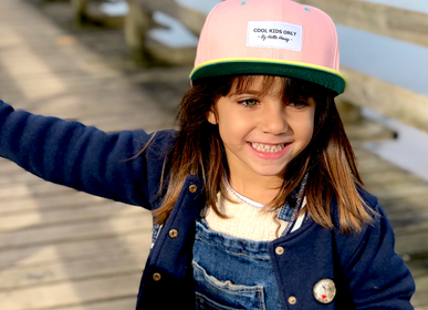 Children's apparel - Mini Pink Cap - HELLO HOSSY®