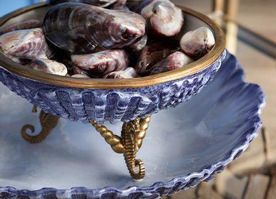 Plats/saladiers - Bol en porcelaine bleue - G & C INTERIORS A/S