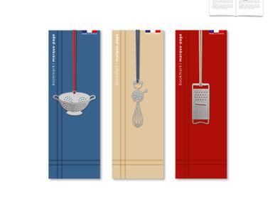 Stationery store - Stainless steel bookmark - Kitchen. - TOUT SIMPLEMENT,
