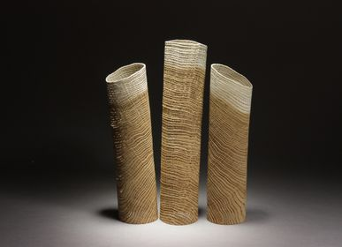 Sculptures, statuettes and miniatures - Tubes trio - PASCAL OUDET