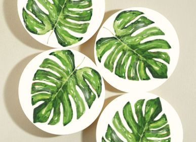 Everyday plates - Exotic Collection Dinner Plate Set (Set of 4) - FERN&CO.