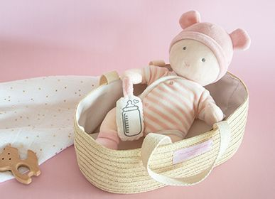 Toys - DOLL WITH BASKET - DOUDOU ET COMPAGNIE