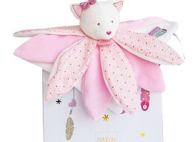 Soft toy - ATTRAPE-REVES - Petals Doudou - Cat - DOUDOU ET COMPAGNIE