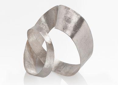 Orfèvrerie - Moebius sculpture bracelet - CHIARA DE FILIPPIS