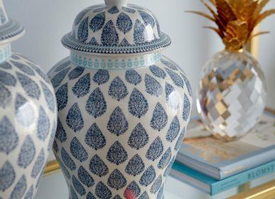 Decorative objects - Porcelain temple jar - G & C INTERIORS A/S