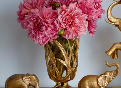 Decorative objects - Brass luxury vase - G & C INTERIORS A/S
