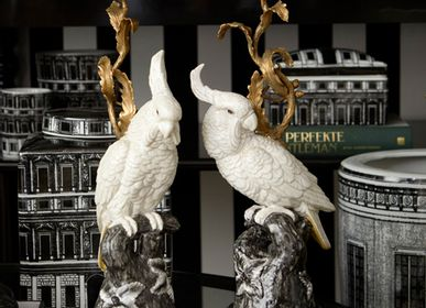 Decorative objects - Porcelain bird candleholders - G & C INTERIORS A/S