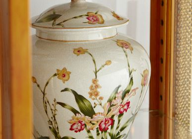 Decorative objects - Porcelain temple jar - G & C INTERIORS A/S