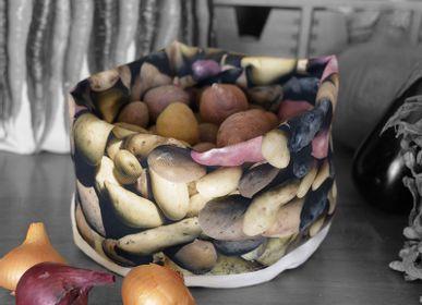 Homewear - Fabric basket printed Potatoes - MARON BOUILLIE