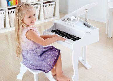 Toys - Electronic grand piano white - HAPE