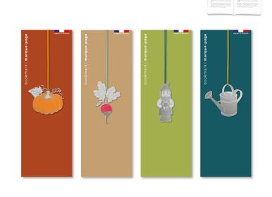 Stationery store - Stainless steel bookmark - Garden. - TOUT SIMPLEMENT,