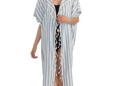 Apparel - BEACHWEAR jACKET DRESS SANTURI COTTON HANDLOOM - LALAY