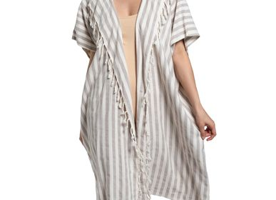 Ready-to-wear - BEACHWEAR jACKET DRESS SANTURI COTTON HANDLOOM - LALAY