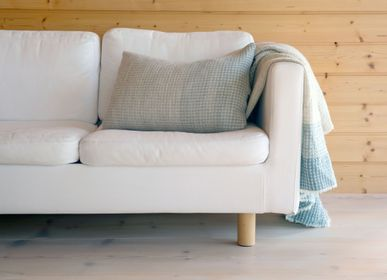 Homewear - Plaid en laine d'agneau finlandais teinture végétale, Kustavi - BONDEN