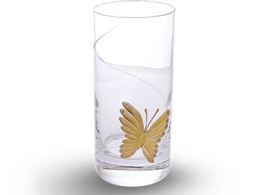 Glass - BUTTERFLY  HIGHBALL ROYAL - LALE DEVRI ISTANBUL
