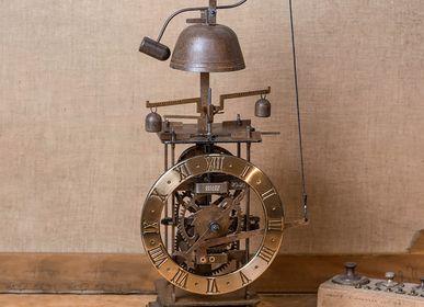 Clocks - Compleorium brass Medieval clock - HORLOGES MÉDIÉVALES ARDAVIN