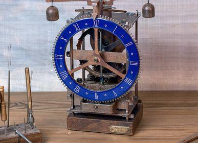 Clocks - Blue Immanuel Medieval clock - HORLOGES MÉDIÉVALES ARDAVIN