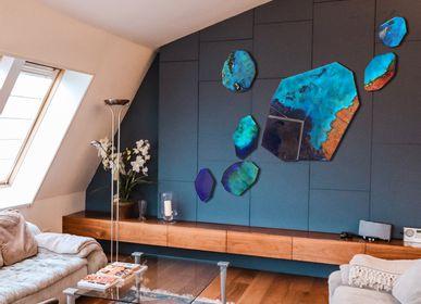 Autres décorations murales - Composition murale - ABYSSES - A.D CRÉATION - ANNE DE LA FORGE