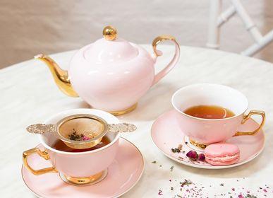 Accessoires thé / café - Tasse à thé et soucoupe Blush - CRISTINA RE