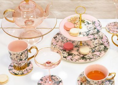 Tea / coffee accessories - Belle De Fleur - 2 Tier Cake Stand - CRISTINA RE
