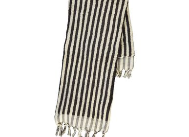 Bath towel - BATH TOWEL THICK HANDLOOM COTTON STRIPED - LALAY