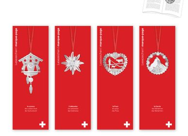 Customizable objects - Stainless steel bookmark - Swiss. - TOUT SIMPLEMENT,