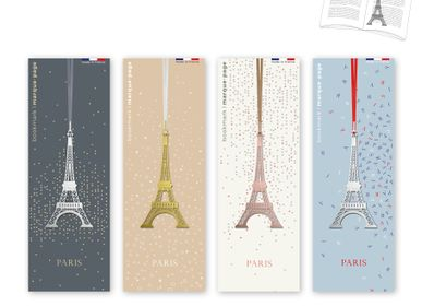 Stationery store - Stainless steel bookmark - Eiffel Tower. - TOUT SIMPLEMENT,