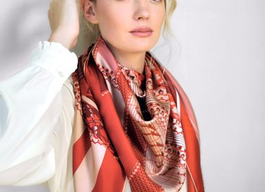 Scarves - SCARF/SQUARE PARIS PETRUSSE - MADE IN FRANCE - PETRUSSE PARIS