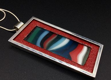 Jewelry - Glass pendant 2 - PEDRO SEQUEROS