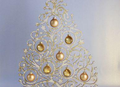 Décorations de Noël - décoration de Noël arbre boucle étoile - KOELNSCHAETZE