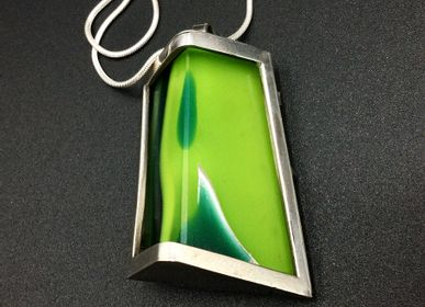 Jewelry - Glass pendant 4 - PEDRO SEQUEROS