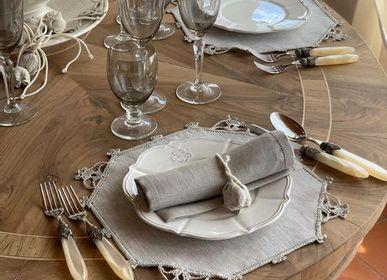 Homewear - Set de table avec dentelle à la main - BUSATTI  1842