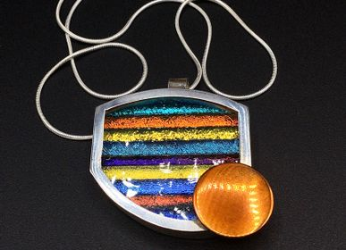 Jewelry - Glass pendant 6 - PEDRO SEQUEROS