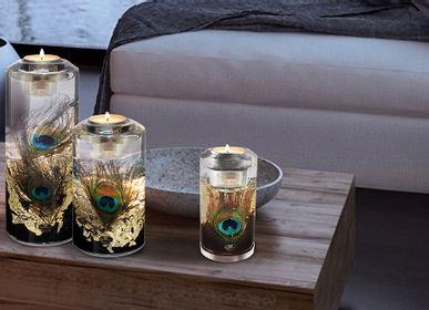 "Decorative objects - LED Candela classic ""Pavos"" - GILDE HANDWERK MACRANDER"