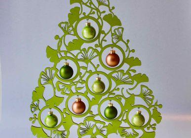 Décorations de Noël - Décoration de table de sapin de Noël ginko, 40 cm - KOELNSCHAETZE