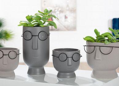 "Céramique - Vase visage ""Faccia"", série 8 - GILDE HANDWERK MACRANDER"