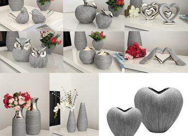 "Objets de décoration - Assortiment en céramique ""Vulcanos"" - GILDE HANDWERK MACRANDER"