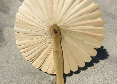 Decorative objects - Fan KEP natural M - THE NICE FLEET