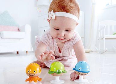 Toys - Wooden toy: marine animal rattles set - HAPE