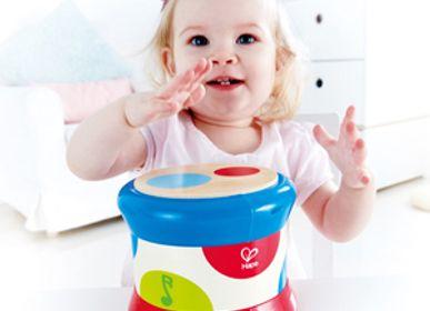 Jouets - Jouet musical : tambour de bébé - HAPE