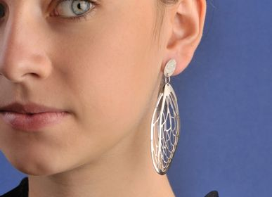 Bijoux - Boucles d'oreilles «mini_CICADA» - ANDREA VAGGIONE