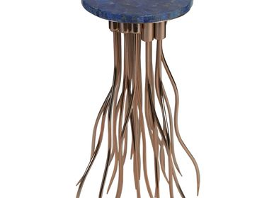 Night tables - GEMSTONE JELLY FISH TABLE - INDIA - BESPOKE HOME JEWELS BY MINJAL J