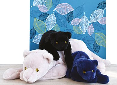 Soft toy - PANTHERE Midnight Blue 75 cm - HISTOIRE D'OURS