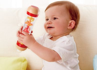 Toys - Wooden toy: red rain stick - HAPE
